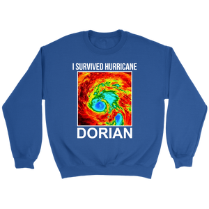 I Survived Hurricane Dorian Crewneck Sweatshirt