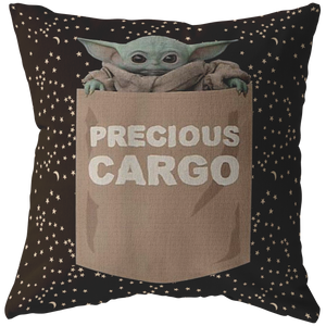 Star Wars The Mandalorian The Child Precious Cargo Pocket Pillow