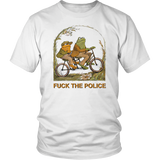 TWO FROG RIDDING - FUCK THE POLICE SHIRT