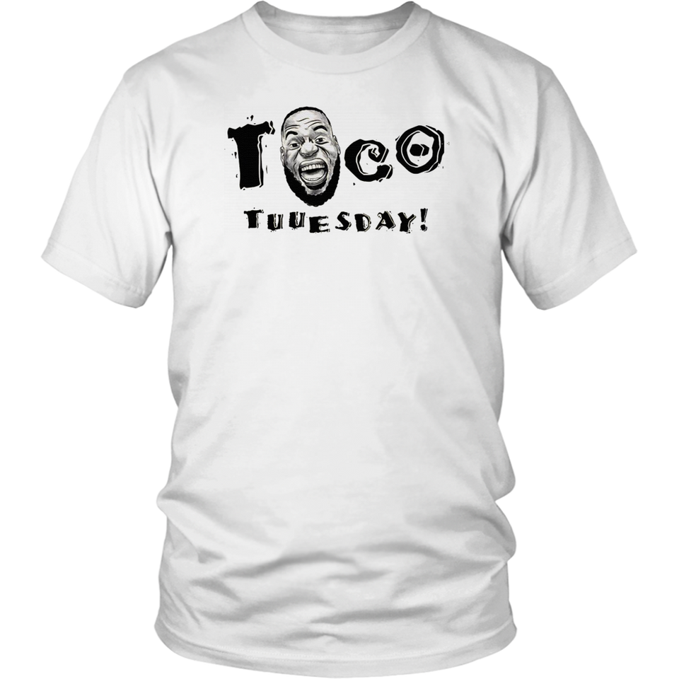 Taco Tuesday Lebron James T-Shirt