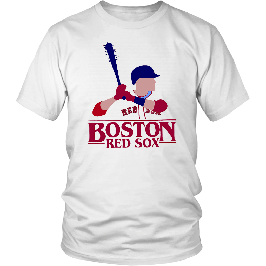 STRANGER THINGS NIGHT BOSTON RED SOX SHIRT