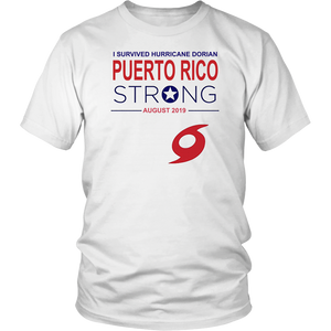 I Survived Hurricane Dorian Puerto Rico Strong T Shirt