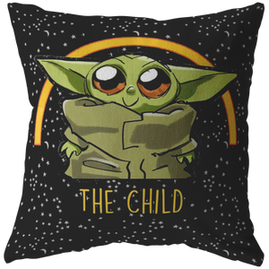 Star Wars The Mandalorian The Child Is So Cute Pillow