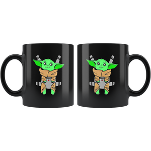 Baby Yoda Star War Carrier Mug