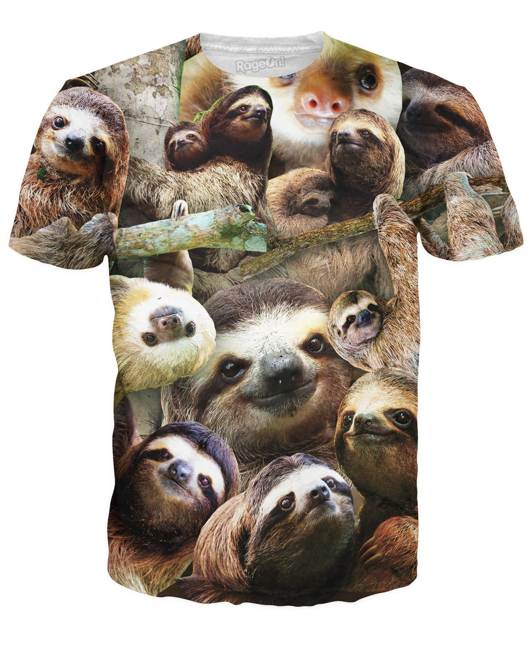 Sloth Collage T-Shirt