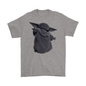 Baby Yoda 3D uses the force The Mandalorian Shirt