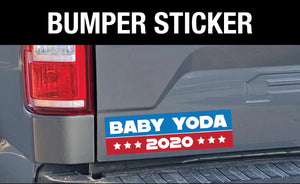 Baby Yoda for President / 2020 President Bumper Sticker
