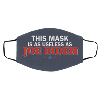 This Mask Is as Useless as Joe Biden Face Mask
