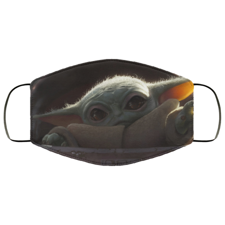 Baby Yoda HD Face Mask