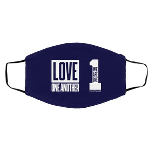 Face Mask BYU Basketball We Are One Love One Another