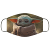 Star Wars Baby Yoda Face Mask