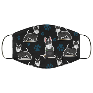Scottish Terrier Dog face mask