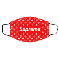 Supreme Louis-Vuitton Red face mask