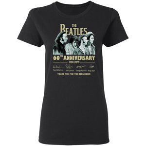 49 Thank You For The Memories The Beatles 60th T-Shirt