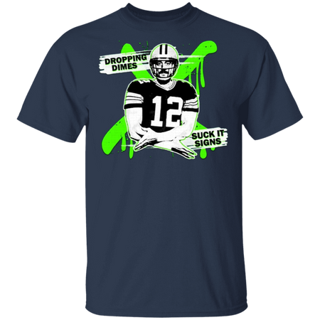 Aaron Rodgers Dropping Dimes T-Shirt