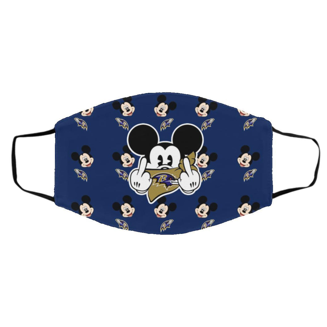 Baltimore Ravens Mickey mouse face mask