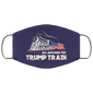 All Aboard The Trump Train 2020 Face Mask