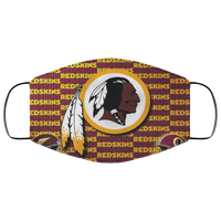 Washington Redskins face masks us