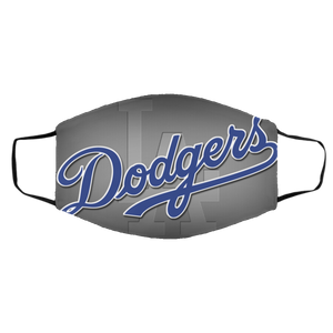 La dodgers cloth face mask