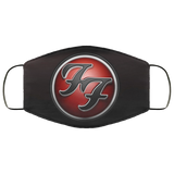 Foo Fighters Face Mask New Fashion