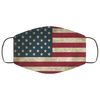 USA Flags Face Mask