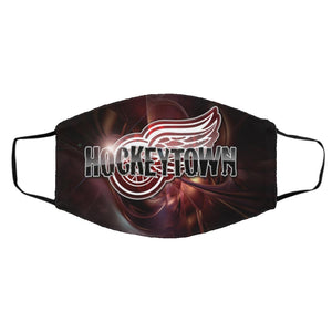 Hockey Detroit Red Wings Face Mask