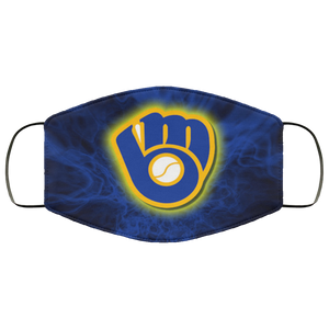 Milwaukee Brewers cloth face masks Filter