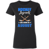 Hockey Legend Are Born In August T-Shirt