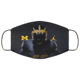 Michigan Wolverines Face Mask us