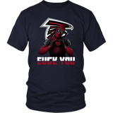 Atlanta Falcons x Deadpool Fuck You And Love You NFL Shirts