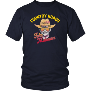 Country Roads take Mahomes tee shirt