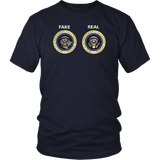 Real And Fake Presidential Seal T-Shirt