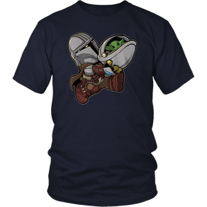 Baby Yoda Bounty Bros - The Mandalorian Shirt