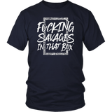 Savages In That Box New York Baseball T-Shirt
