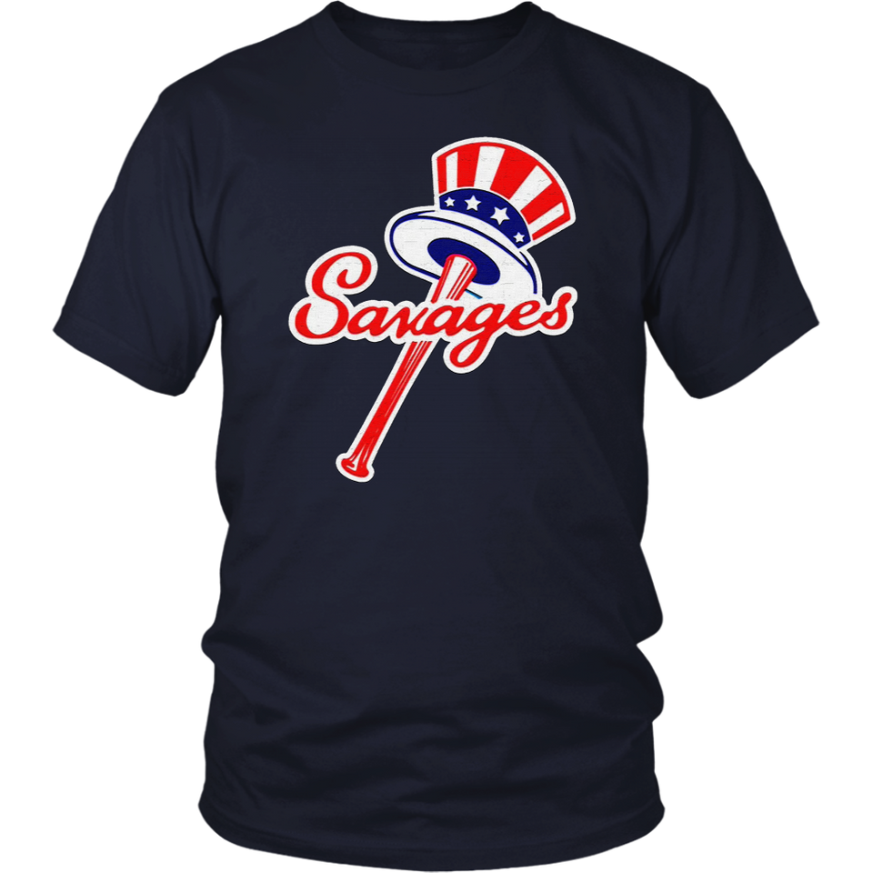 Tommy Kahnle Savages Shirt New York Yankees Top Hat Emblem -