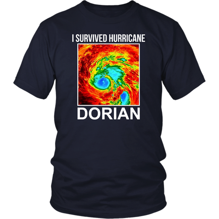 I Survived Hurricane Dorian T Shirt