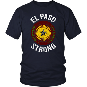 El Paso Strong El Paso Texas Flag T-Shirt