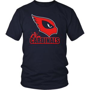 NFL Team Arizona Cardinals Deadpool Shirts