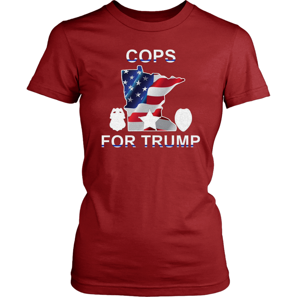 Reviewstee - Cops for Trump T-shirts