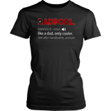 DADPOOL DEFINITION SHIRT FUNNY FATHER'S DAY - DEADPOOL