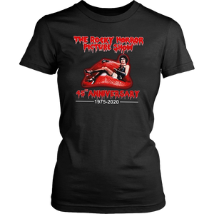 The Rocky Horror Picture Show 45th Anniversary 1975 - 2020 Signatures T-Shirt