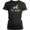 Patrick's Day Flag American St. Woof Gordon Setter Dog T-Shirt