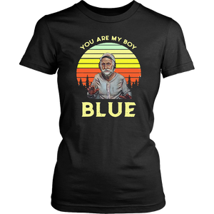 Vintage Joseph Blue Pulaski You Are My Boy Blue Old School T Shirt
