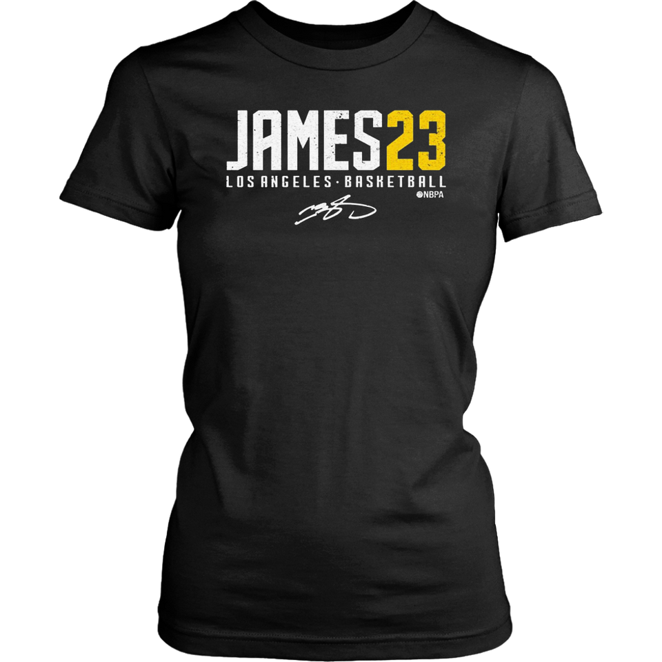 Lebron James L.A 23 Signature T-Shirt