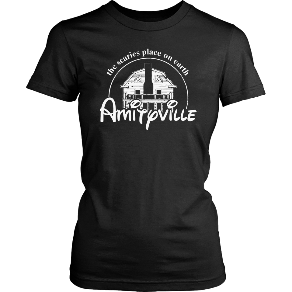Amityville The Scaries Place On Earth Perfect Halloween T-Shirt