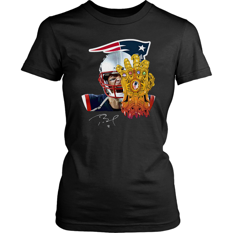 Tom Brady Patriots Thanos T Shirt – Gardeniateelive Shirt