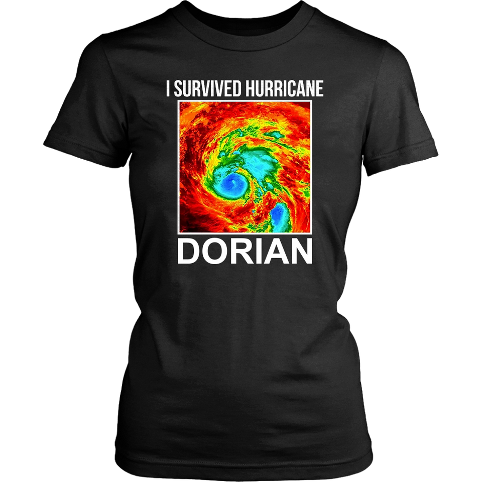 I Survived Hurricane Dorian  Womens Shirt