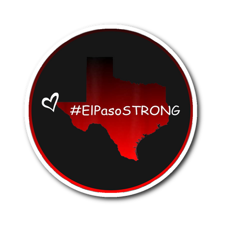 El Paso Strong Sticker