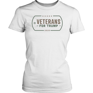 Veterans for Trump T Shirt