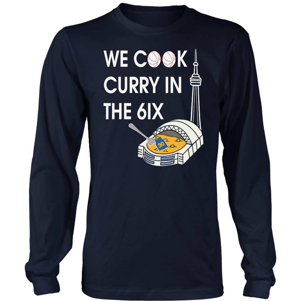 WE COOK CURRY IN THE 6IX SHIRT